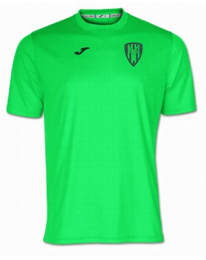 Camiseta Combi Verde Fluor...